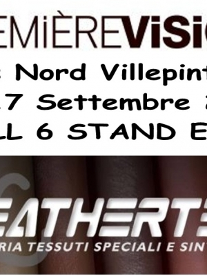 Premier Vision 15-17 Settembre 2015 - Hall 6 - Stand E9