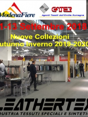 STAND LEATHERTEX FIERA GATER MODENA