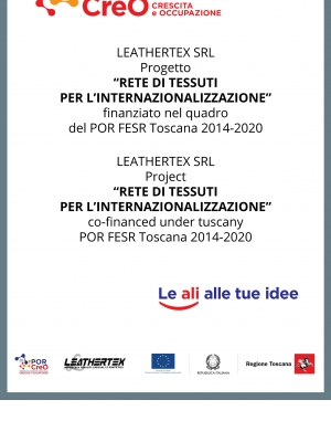 The internationalization project Rete di tessuti per l'internazionalizzazione