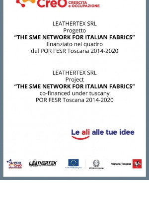 Project THE SME NETWORK FOR ITALIAN FABRICS